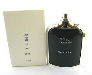 Jaguar Classic Black Men by Jaguar EDT Spray 3.4 oz / 100 ml ~ NEW IN TESTER BOX