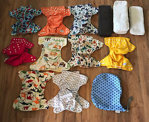 Barely Used Cloth Diapers and Supplies