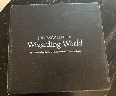 "EXCLUSIVE ""Dark Arts"" Harry Potter/Fantastic Beasts Lootcrate Box — Brand New"