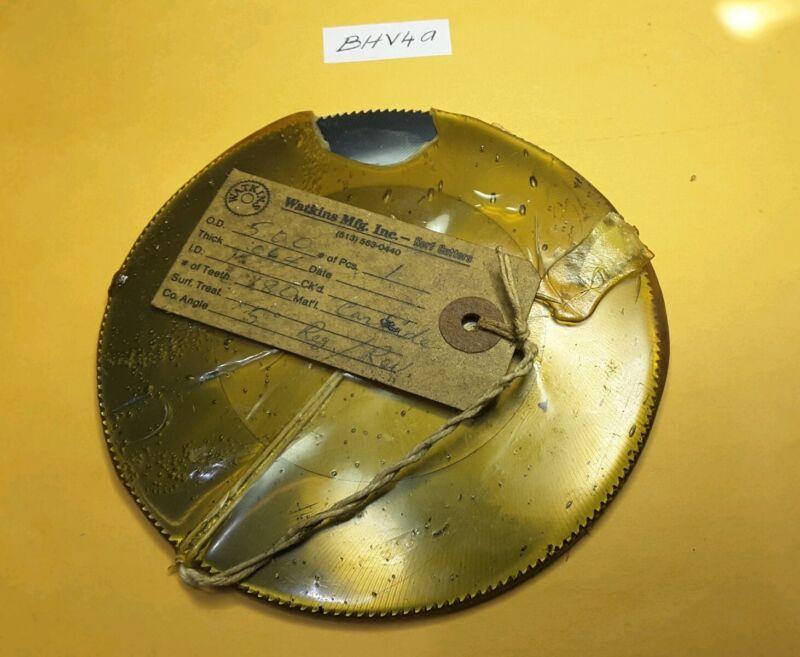 5 X .064 X 1 X 180T  5° carbide slitting saw