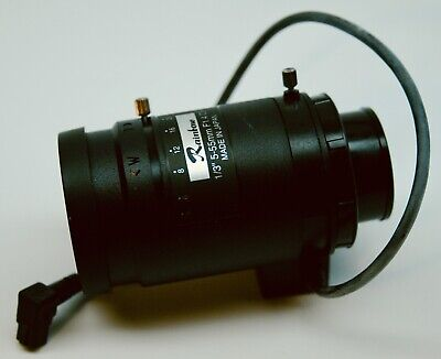 Rainbow L555vdc4p 13 5-55mm F1.4 Varifocal Dc Auto-iris Cs Cctv Security Lens