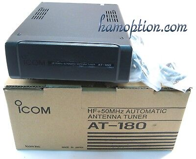NEW ICOM AT-180 for IC-706MkII IC-7000 IC-7200 IC-718 IC-703+ IC-706 IC-706MkIIG for sale  Shipping to Canada