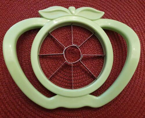 Apfelschneider Apfelausstecher; Apfelteiler Obstteiler Entkerner Edelstahl grün