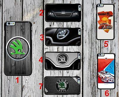 Skoda New Case for Iphone 4,5,6,7,X Samsung Galaxy HTC