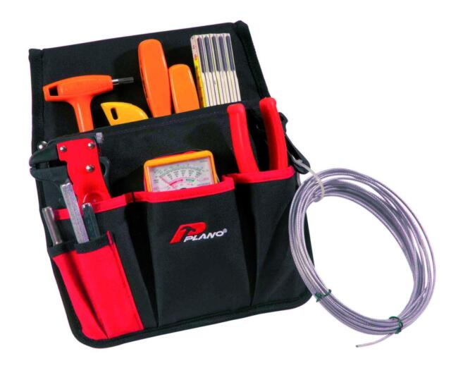 Plano Werkzeugtasche mit Karabinerhaken P534TB NEU Tool bag Arbeitstasche