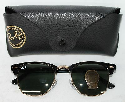 fc3d83a075 ... shopping new ray ban clubmaster mens g 15 lens sunglasses rb 3016 w0365  49 21 ec146