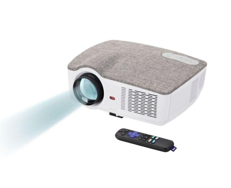 Onn  Projector 720p 3100 lumens Portable Roku Streaming Stick - 100010682