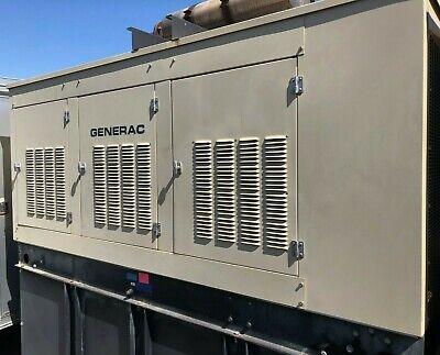 Generac Commercial Standby Diesel Generator120208v 3ph130kw 451amp W Tank