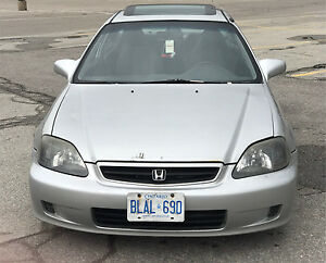 2000 HONDA CIVIC SI (5 SPEED MANUAL)