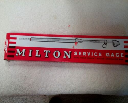 Milton Industries s-982  Dual Head SERVICE GAGE 10-160PSI