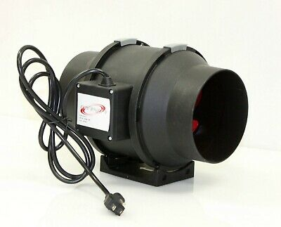 8 Mixed Flow Duct Fan Exhaust Ventilation 8 Inch Fan 120v 70w 750cfm