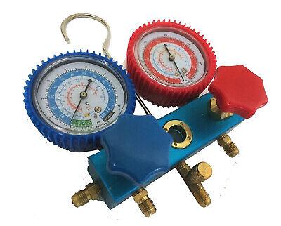 R134a R12 R22 R502 Ac Air Conditioner Diagnostic Manifold Charge Gauge