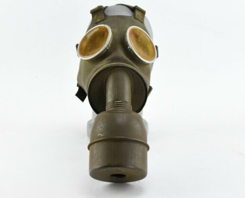 WW2 1935 French CP 38 Gas Mask Filter Marked Excellent Condition WWII