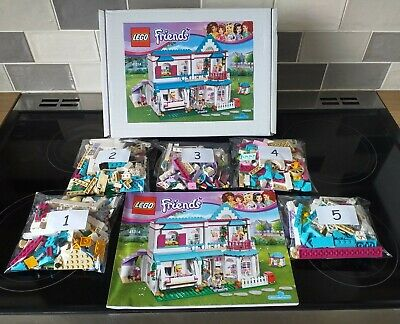 LEGO Friends 41314 Stephanie's House - 100% complete, instructions and gift box