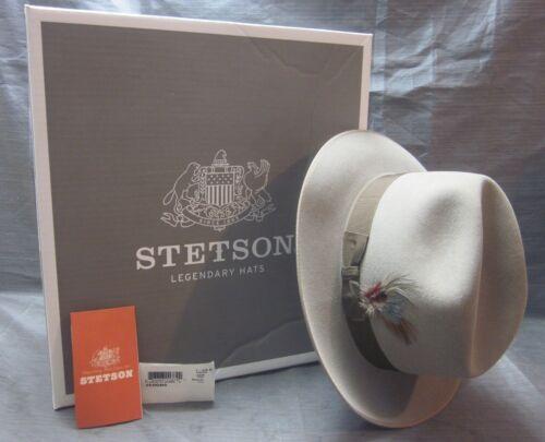 Stetson Verona TF32938123.VERNB-R 7 3/8 23/8 Brim Natural Color NEW in Box