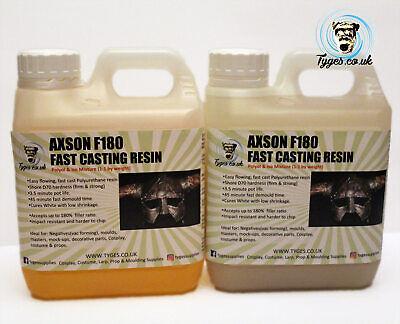 Fast Cast Resin Polyurethane Casting Liquid Model making Crafts Cosplay Axson