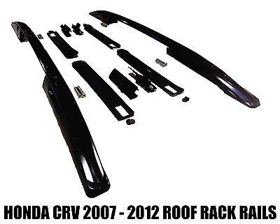 ROOF RAILS FITS HONDA CRV 2007 - 2012 SIDE BARS RACK MOUNT SUV BLACK