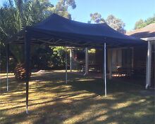 INSTAHUT 3X6M Pop Up Gazebo and Party Marquee (black & white) Cranbourne West Casey Area Preview