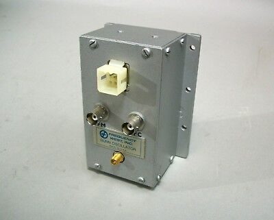 Frequency West Inc. Microwave Gunn Oscillator Gsc-540lmf-01 - Used