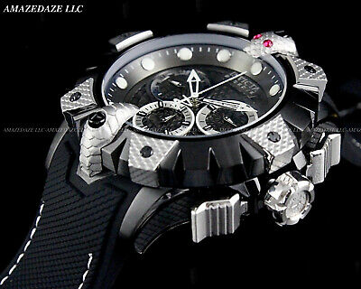 INVICTA Reserve Mens 52mm Venom Viper Swiss Gunmetal Two-Tone Stainless St Watch