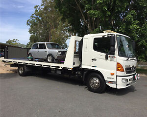 Cheapest 24/7 Brisbane wide tilt tray tow truck services Brisbane City Brisbane North West Preview