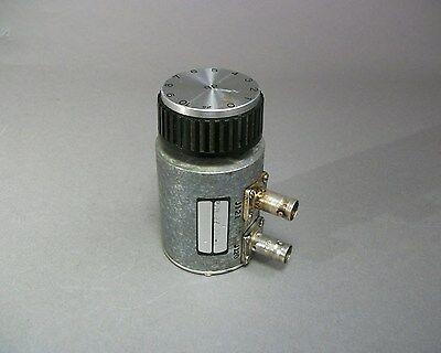 Texscan Corp Ra50 0-10db Varuable Attenuator Bnc F - Used