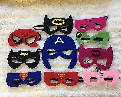 Kinder verschiedene Superheld Masken Superman Batman Kostüm (Verschiedene Superhelden Kostüme)