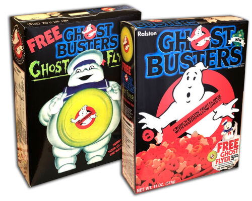 Ralston GHOSTBUSTERS Cereal Box (BOX ONLY!)