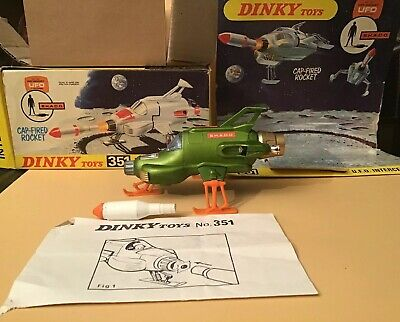 Superb Original 1971 Dinky Toys #351 Gerry Andersons 'U.F.O Interceptor' Boxed for sale  Shipping to Ireland