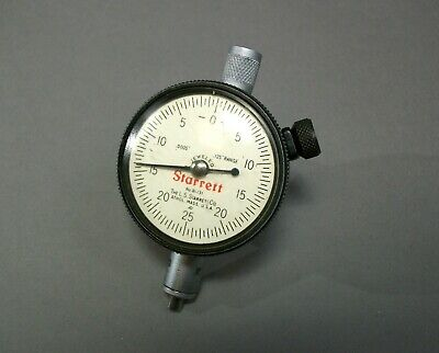 Starrett 81-131 Dial Indicator Gauge Free Shipping - Used