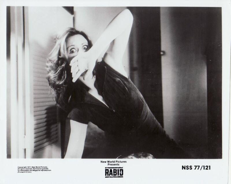 RABID (1977) Set of 3 vintage orig 8x10 b&w stills early-David Cronenberg horror