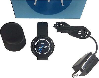 Motorola-Moto-360-1st-Gen-46mm-4GB-512RAM-Touch-Screen-Black-Leather-Smart-Watch