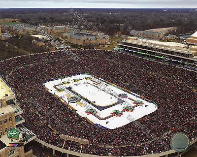 8ff7f43cbbe5d Notre Dame Stadium 2019 NHL Winter Classic Blackhawks vs Bruins 8x10 Photo