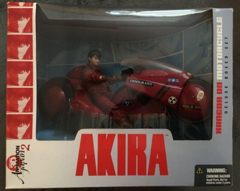 2001 McFarlane AKIRA Kaneda on Motorcycle Deluxe Boxed Set, NIB, Very Rare!