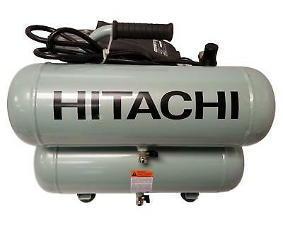 Hitachi 4 Gallon Portable Electric Twin Stack Air Compressor 135PSI (Hitachi Air Tool Air Compressor)