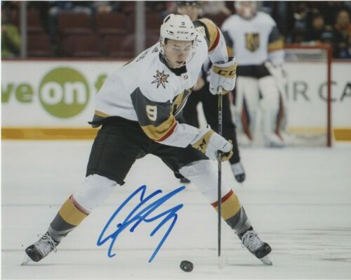 Vegas Golden Knights Cody Glass Autographed Signed 8x10 Photo COA #4