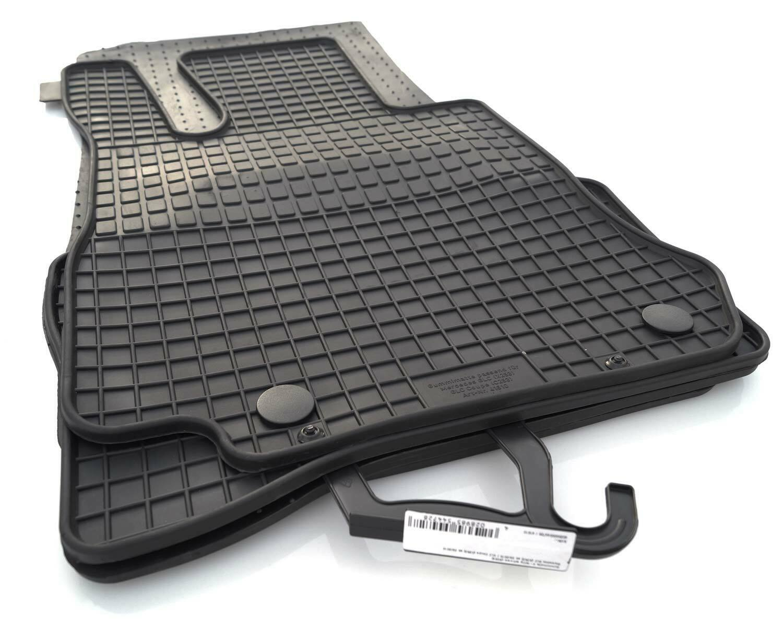 Velours Autoteppiche Fußmatten MERCEDES BENZ GLC C253 X253 ab 2016 Bef.rund