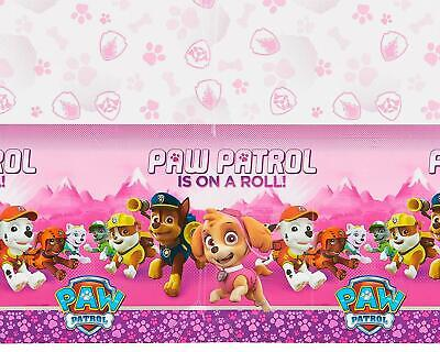 NEW Girls PAW PATROL Tablecover 54