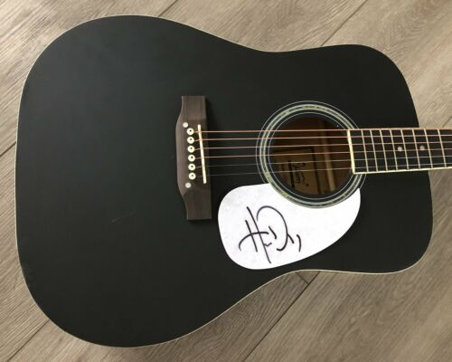 """HARDY COUNTRY SINGER SIGNED AUTOGRAPH 41"""" FULL SIZE ACOUSTIC GUITAR w/PROOF"""