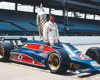Mario Andretti 1981 Indy 500 Winner Auto Racing 8X10 Photo
