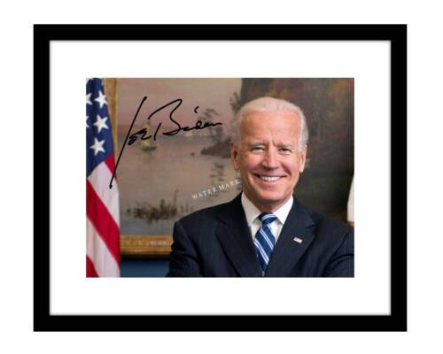 Joe Biden 8x10 Signed Photo Print Portrait Autographed Obama Vice President DNC