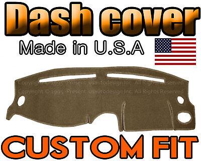 Fits 1995-1999 HYUNDAI ACCENT DASH COVER MAT DASHBOARD PAD / TAUPE