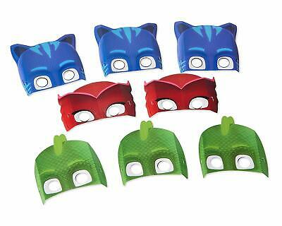 PJ MASKS Birthday Party Decorations Catboy Owlette Gecko Dress-up Costume Masks](Super Heroes Dress Up)