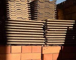 Roof Tiles and Scrolled Cream Bricks Broadview Port Adelaide Area Preview