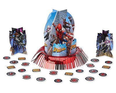 Marvel Spider-Man Table Decorating Kit 23 Piece Centerpiece Party Supplies - Spider Man Decorations