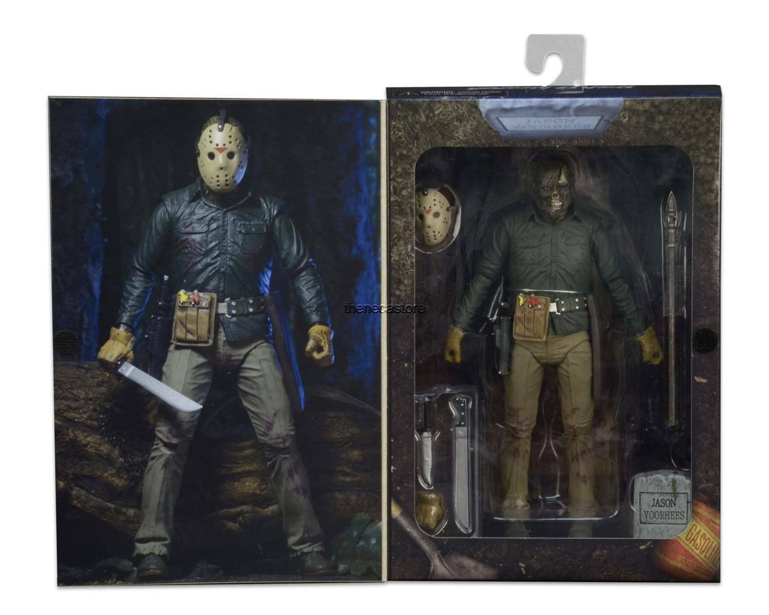 """Friday the 13th - 7"""" Scale Action Figure - Ultimate Part 6 Jason Voorhees - NECA"""