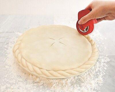 Talisman Designs Pastry Wheel Decorator Finish Pie Crust Edge Fast Easy 1520