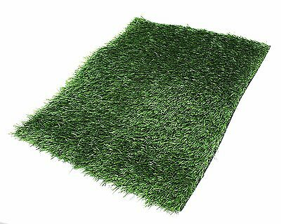 "Replacement Synthetic Grass Indoor Pet Dog Potty Patch Pee Grass Pad 30"" x 20"""