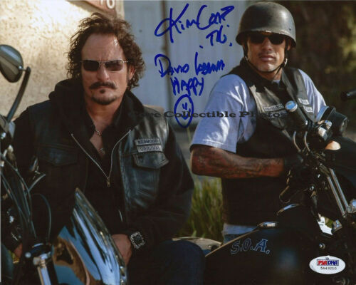 Kim Coates & David Labrava  Sons of Anarchy autographed SIGNED 8x10 photo RP