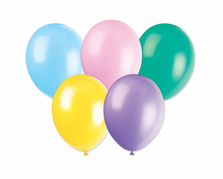 Helium Pastel Style Latex Pale Vibrant Colour Balloon Balloons 5//10//20//50pcs UK